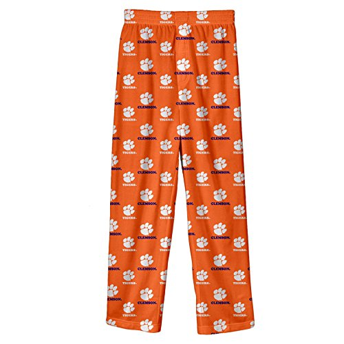 NCAA by Outerstuff NCAA Clemson Tigers Toddler Team Colored Printed Pant, Orange, 2T