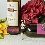 Mikash Love Sign Wine Bottle Stopper Wedding Party Favors Decorations Accents Wholesale | Model WDDNGDCRTN - 6013 | 10 pcs