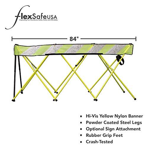 Barricade System - Flex-Safe Expanding Barricade 84