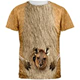 Best Kangaroo Halloween Costumes For Couples - Halloween Kangaroo Costume All Over Adult T-Shirt Review