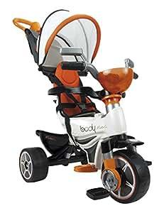 INJUSA - Triciclo Body MAX para Bebés a Partir DE 10 Meses, con Control Parental de Dirección, Color Naranja (3254)