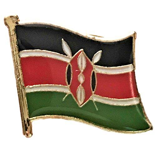 Backwoods Barnaby Kenya Flag Lapel Pin (0.75