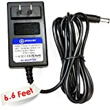 T-Power ((6.6 ft long cord)) Ac Dc adapter for 24V Dyson Exclusive DC30 DC31 DC30 DC34 DC35 DC44 DC45 DC56 DC57 Animalpro / DC45 Up Top / DC45 P/N : 917530-01 917530-02 917530-11 / 17530-02 Animal Vacuum HANDHELD VACUUM CLEANER BATTERY Replacement switching power supply cord charger wall plug spare