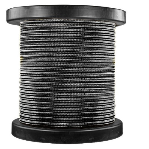 150 ft. Spool - Rayon Antique Wire - Black - 18/2 SPT-1 - Parallel Cord by PLT
