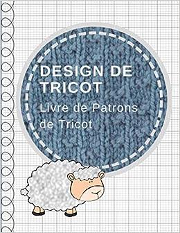 Design De Tricot Carnet De Papier Quadrille Livre De Patrons De