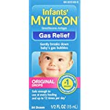 Mylicon Infant Drops Anti-Gas Relief Original formula, 1/2 FL OZ (15 ml)