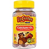 L'il Critters Gummy Dietary Supplement, Calcium with Vitamin D3, 60 Count