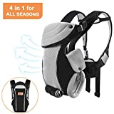 Bable Baby Carrier Ergonomic, Soft Carrier Newborn-for Baby 8-20 lbs-Baby Wrap Carrier Comfortable for All Seasons Image