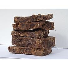 Handmade RAW ORGANIC African Black Soap 1lb. 16oz. From Ghana [Misc.]