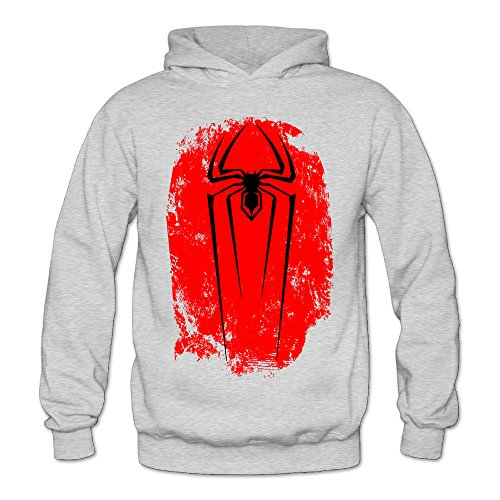 XJBD Women's Spider Man Special Hoodie Ash Size - Sunglasses Keanu Reeves