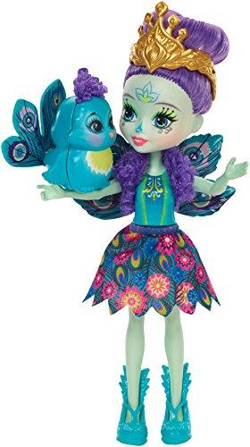 Enchantimals Muñeca Pippa Peacock (Mattel DYC76): Amazon.es: Juguetes y juegos