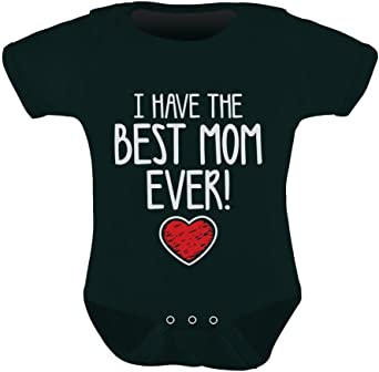 I Love My MommyCute Heart Mom Mothers Day Toddler Infant T