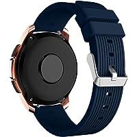 Correa de Silicona Sport para Samsung Galaxy Smart Watch 42mm / 46mm, Oucan Reemplazo de Pulsera de Goma Correa para Pulsera con Hebilla