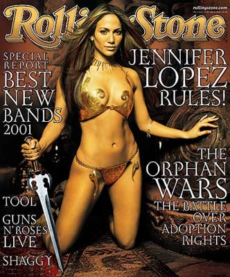 (Rolling Stone Issue #862 Jennifer Lopez February 15, 2001)