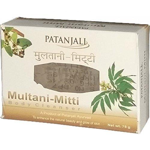 (Patanjali Multani Mitti Soap Pack of 7 (7 x75g))