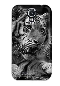 Hot Galaxy S4 Case Cover Skin : Premium High Quality Tiger Case 8097749K33276560