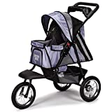 Guardian Gear Sprinter EXT II Stroller for Dogs and Cats, Steel Blue