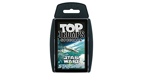 Amazon.com: parte superior Trumps – Star Wars Starships ...
