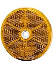 HELLA 8RA 002 014-251 Reflector - amarillo - atornillado