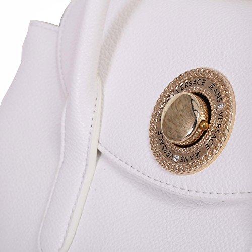 Versace Jeans, Borsetta Da Donna Bianco Bianco