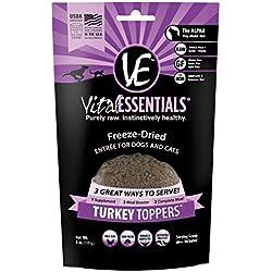 Vital Essentials Freeze-Dried Turkey Toppers, 6 oz