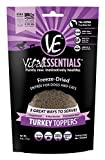 Vital Essentials Freeze-Dried Turkey Toppers Grain Free Limited Ingredient Dogs Cats, 6 Ounce Bag