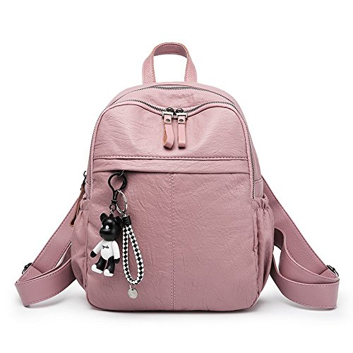 École Femme AalarDom Dos Zippers Sacs à Rose des Coton Sacs 6rrqd5nw