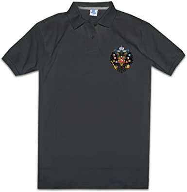 Cromoncent Mens Summer Casual Contrast Color Short Sleeve Polo Shirt T-Shirts
