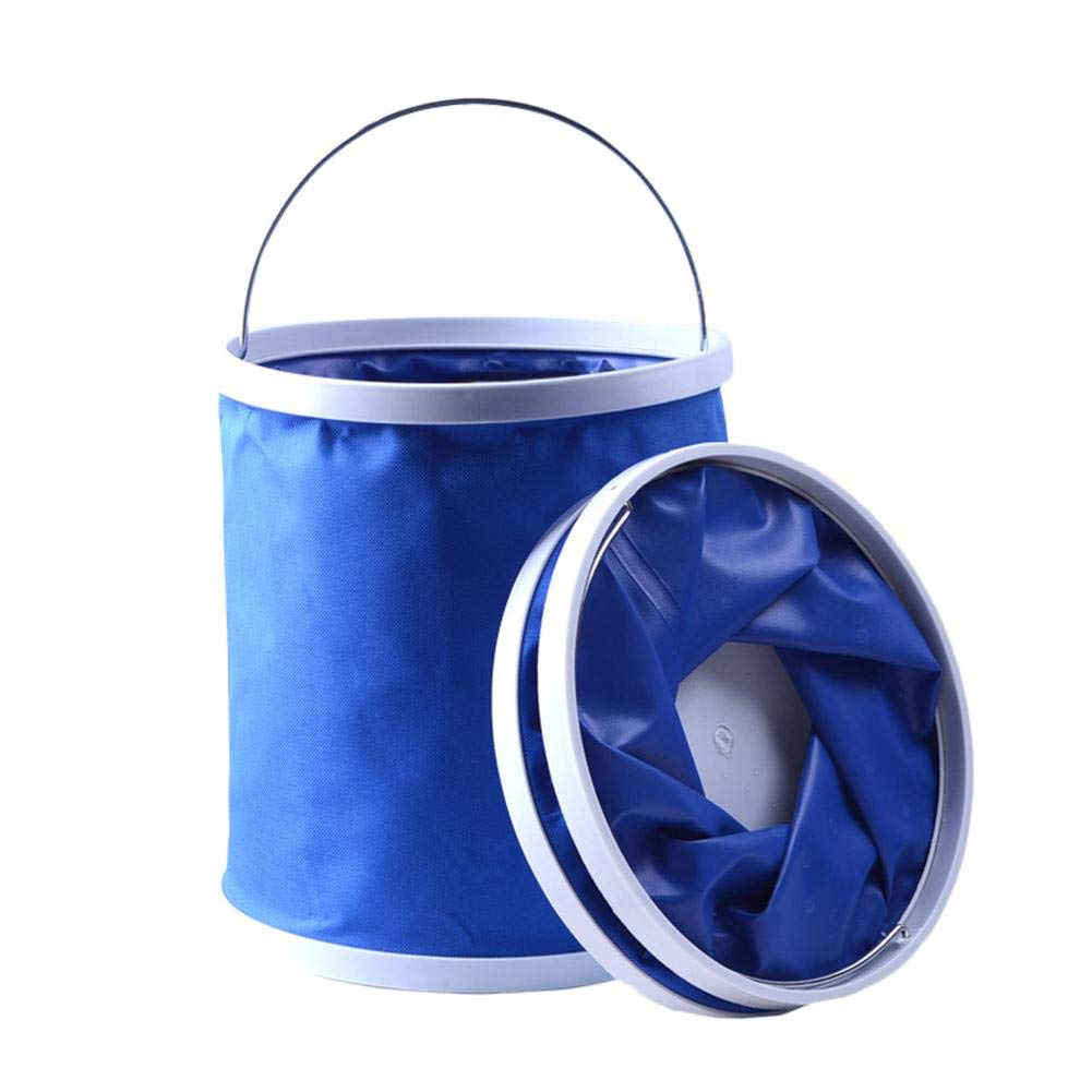 tingtin Tint/ín Plegable Plegable De Silicona Pl/ástico Cubo Redondo Mascota Ba/ñarse Cubo Plegable Caja De Almacenamiento De Juguetes para Ni/ños Pesca Al Aire Libre Camping Cubo