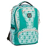 Cheap Ful Mission Diamond Tribal Laptop Backpack, Fits 15in Laptops, Teal