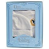 Baby Dumpling Hush Little Baby Newborn Gown Set, Boy's, Blue/White, 0-3 Months