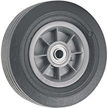 Flat Proof Replacement Wheel  - 8-Inch -  300 lb. Load Capacity  -  For use on Wheelbarrows, Wagons, Carts, & Many Other Products
