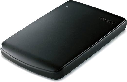 BUFFALO エントリーモデル ポータブルHDD 500GB HD-PV500U2-BK/N [フラストレーションフリーパッケージ(FFP)]