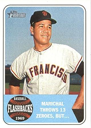 timeless design 32b32 fd0ba Amazon.com: 2018 Topps Heritage Baseball Flashbacks #BF-JM ...