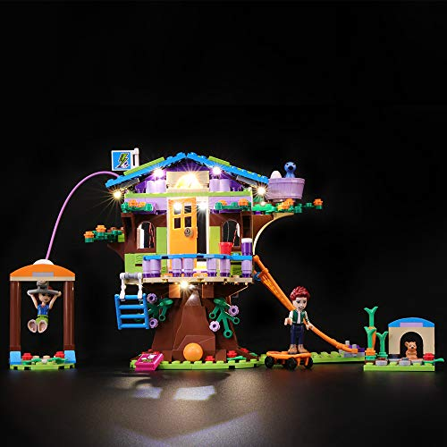Briksmax Led Lighting Kit for Mia's Tree House - Compatible with Lego 41335 Building Blocks Model- Not Include The Lego Set