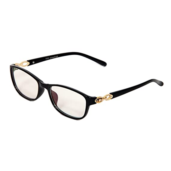 c54fbb0afd4 iGypsy 8020 Rectangular Black Eyewear for Men and Women  Amazon.in   Clothing   Accessories