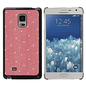 rígido protector delgado Shell Prima Delgada Casa Carcasa Funda Case Bandera Cover Armor para Samsung Galaxy Mega 5.8 9150 9152 -Polka Dot Pink Yellow Pattern Wallpaper-