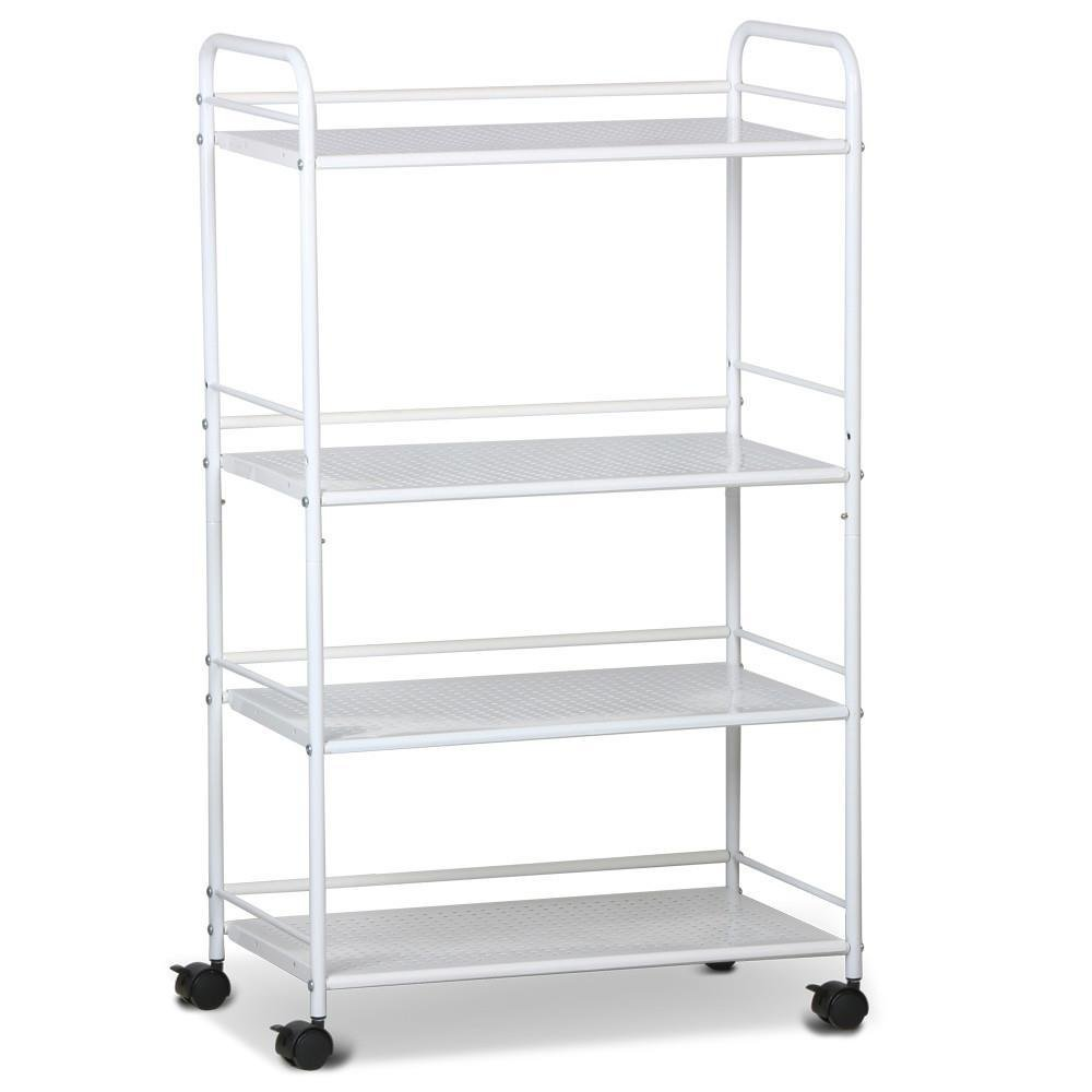 Topeakmart Rolling Trolley Cart Kitchen Storage Cart 4 Tier Facial Salon Spa Utility by Topeakmart (Image #1)