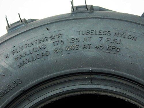 New Single 1 of 16x8.00-7 MASSFX ATV /ATC Tire 16x8-7 16/8-7 16x8x7 MO1687 by MASSFX (Image #2)