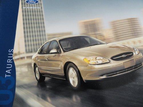 - 2003 Ford Taurus Sales Brochure