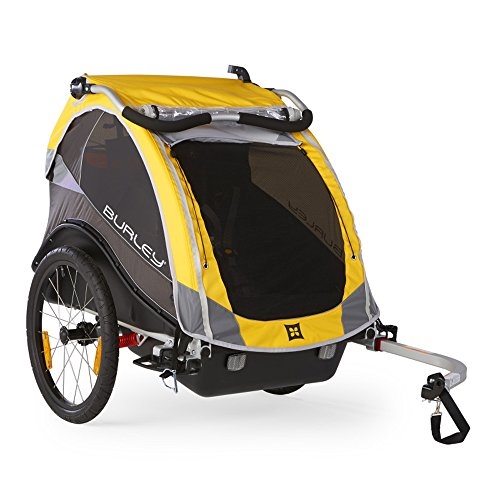 Burley Design Cub Bike Trailer, Yellow