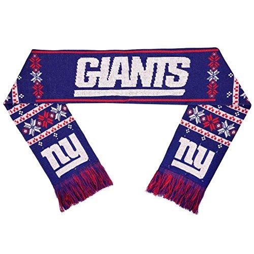 Nfl Scarves Shop (NFL New York Giants Light Up Scarf, One Size, Blue)