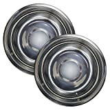 Immokaz 5.5, 6.2 Inch Stainless Steel Polish Mirror Round Plates Set, Dinner plate, For Kids Snacks, Outdoor, Camping Plates