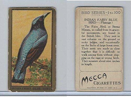 (T42 American Tobacco, Birds, 1910, Indian Fairy Bluebird)