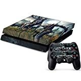Cheap MODFREAKZ™ Console and Controller Vinyl Skin Set – Wild Hunt Combat for Playstation 4