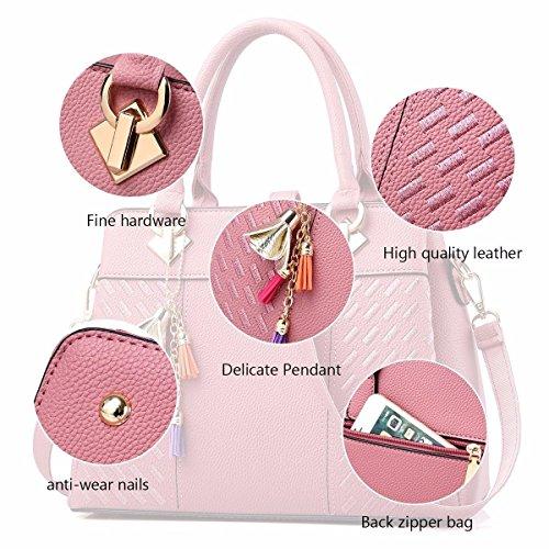 de Satchel MSZYZ Regalos Hombro Bag Diseñador De Bolsos Vacaciones Navyblue Rubber Pink Tote Señoras Bolsas qwYTYZC15x