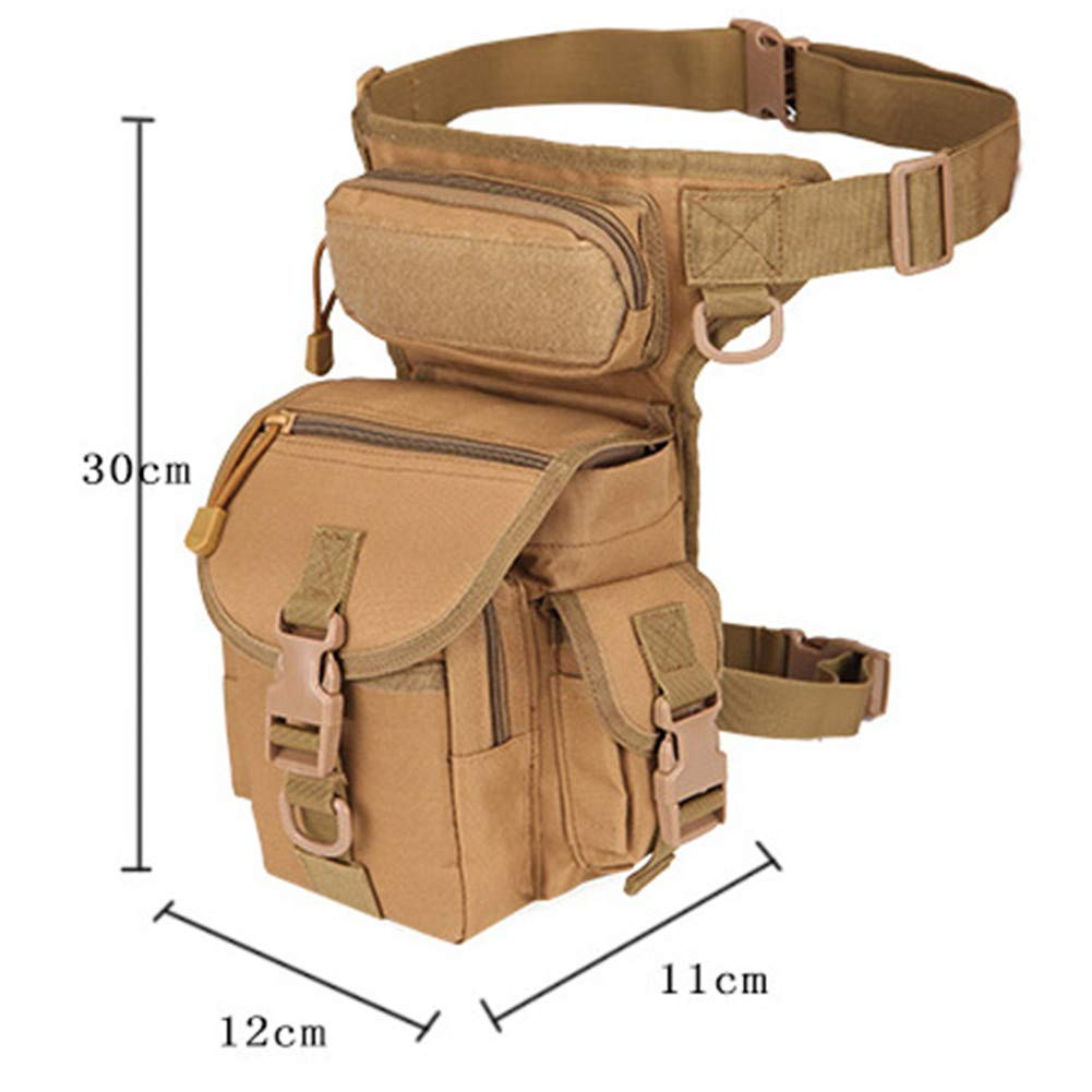 LUCKGXY Sport Leg Bag Waist Strap, wasserdicht Oxford Cloth Cloth Cloth Camouflage Shoulder-Slung Camera Bag für Outdoor Wandern Gym Camping Trekking Bug Out,DesertDigital B07MH2FJZX Trekkingruckscke Won hoch geschätzt und weithin Grünraut im in- und Ausland ver 294572