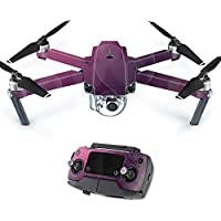 MightySkins Protective Vinyl Skin Decal for DJI Mavic Pro Quadcopter Drone wrap cover sticker skins Purple Hearts