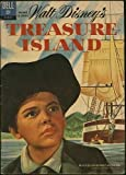 img - for Walt Disney's Treasure Island (Dell Movie Classic Comic) (Bobby Driscoll cover photo) July 1962 (#01-845-211) book / textbook / text book
