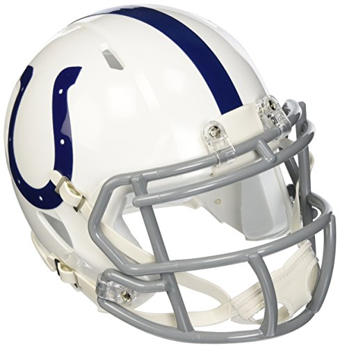 - NFL Indianapolis Colts Revolution Speed Mini Helmet